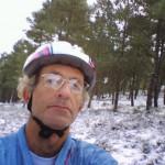 Paolo Isola in Mountan bike a Genn'e Funtana con l